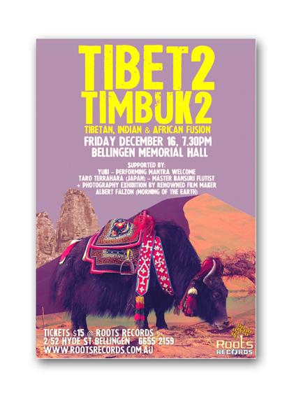 Tibet2Timbuk2 poster