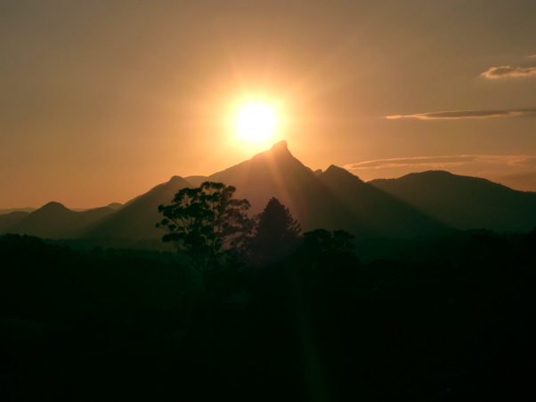 Mount Warning sunset