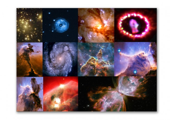 Hubble Space Collage